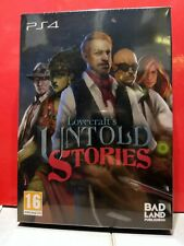 Lovecraft's Untold Stories (Playstation 4, 2019)nuovo sigillato PAL