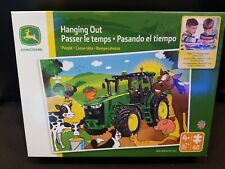 JOHN DEERE Hanging Out 60 piece puzzle NEW IN BOX ages 4+