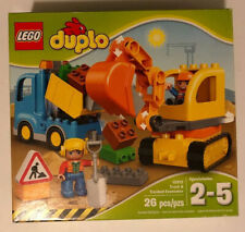 LEGO® DUPLO ® Town - Truck & Tracked Excavator 10812 26 Pcs Opened/Damaged Box