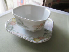 Villeroy Boch Fruit Garden Sauce boat with underplate