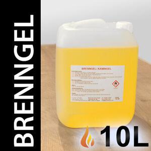 Brenngel in 10 Liter Kanister