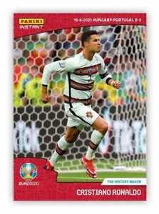 PANINI INSTANT EURO 2020 CRISTIANO RONALDO (PORTUGAL) #12 IN STOCK 2021