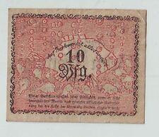 Notgeld Nordseebad Borkum  1918 10 Pfenning  Ostfriesland  Geldschein