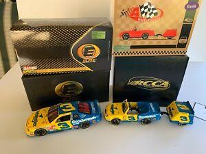 2 VEHICLES - Dale Earnhardt 1999 Wrangler ELITE #3 1:24 Car + Pedal Car