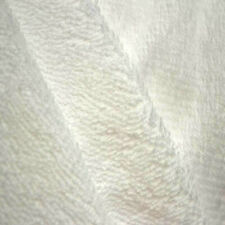 Waterproof Cotton Towelling Fabric Plain Solid Material Extra Wide 207cm PU Back