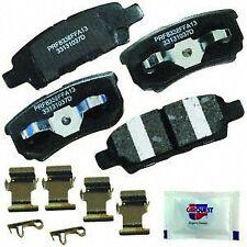 CARQUEST Brakes PXD1037H Rear Premium Ceramic Brake Pads
