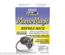 All Natural Mouse Magic Mouse Mice Repellent 4 Pak Child & Pet Safe Repels Mice