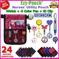 HQ Ezy-Pouch NURSE POUCH BAG POCKET + Watch + EXTRA BATTERY + Bonus Pack