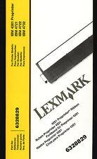1x LEXMARK IBM 6328829 Farbband NYLON Schwarz für IBM proprinter 4201