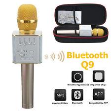 Q9 Wireless Karaoke Microphone Portable Bluetooth KTV Mic Speaker USB Player HOT