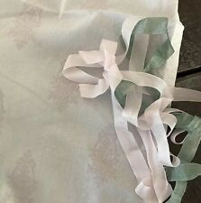 Rachel Ashwell Shabby Chic Couture Chandelier Crest Cafe Curtains Pair