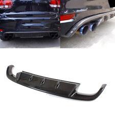 Carbon Fiber Rear Bumper Lip Diffuser Fit for Volkswagon MK6 Golf 6 VI GTI 10-13