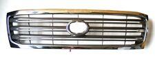 Radiator Grille Front Chrome/Grey For Toyota Landcruiser HDJ100 4.2TD 8/02-5/05