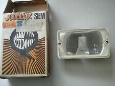 SIMCA CHRYSLER FRANCE 1100, 13/1501 SIEM FRONT RECTANGULAR DRIVING LAMP INSERT