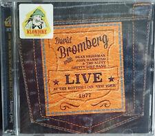 DAVID BROMBERG LIVE AT BOTTOM LINE NEW YORK 1977 NEW SEALED DOUBLE CD