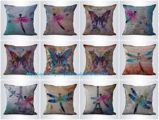 US SELLER-10pcs cushion covers butterfly dragonfly ideas for home interiors