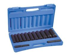 13-Piece 1/2 in. Drive 6-Point SAE Extra Deep Impact Socket Set GRY-1313XD New!