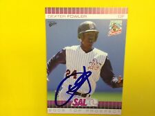 Dexter Fowler   autograph baseball card  Cubs   Rockies  signed   authentic