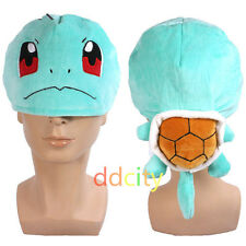 Pokemon Figure Cosplay Squirtle Hat Unisex Warm Plush Hat Cap US Shipped X'mas