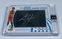 2019 20 PANINI INSTANT CLEAR VISION ON CARD DEANDRE HUNTER AUTO AUTOGRAPH #4/10
