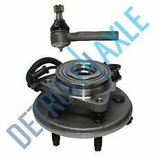 NEW Front Wheel Hub & Bearing Assembly + Outer Tie Rod End for Ford Explorer