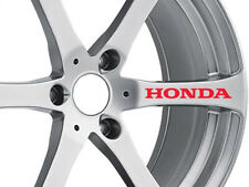2x 10cm Honda Civic Jazz Alloy Wheel Bumper Rims Car Decal Vinyl sticker