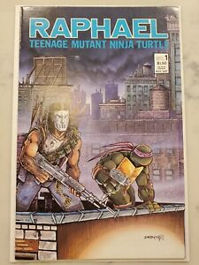 Raphael #1 Teenage Mutant Ninja Turtles 2nd Print 1st App Casey Jones VF+
