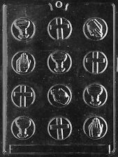 R018 Communion Mints Chocolate Candy Soap Mold with Instructions