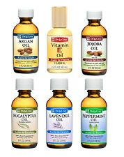De La Cruz Oil 6 pack-Argan, Vitamin E, Jojoba, Eucalyptus, Lavender, Peppermint
