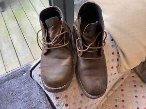 Men's Timberland Tan Boots Size UK 7.5