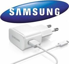 Originale Chargeur + cable Usb Blanc Samsung ETA U90 2A J500F Galaxy J5