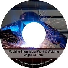 Learn To Weld Welding Welder Spot Mig Tig Arc Alloy Machine Metal PDF Manuals CD