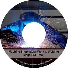 Learn To Weld Welding Welder Spot Mig Tig Arc Alloy Machine Metal PDF Manuals CD