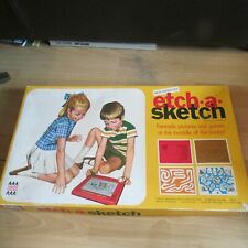 Vintage Denys Fisher Etch-A-Sketch Boxed Retro 70 Classic Toy