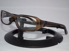 OAKLEY HEARSAY Eyeglasses RX FRAME OX1037-0451 TIGER EYE 51mm Glasses
