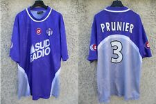 Maillot TOULOUSE F.C William PRUNIER n°3 LOTTO vintage shirt camiseta trikot XL