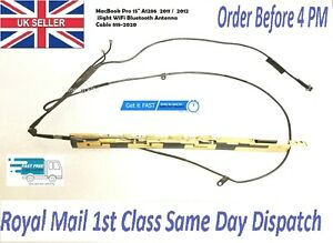 Apple MacBook Pro A1286 2011 2012 iSight WiFi Bluetooth Antenna Cable 818-2020