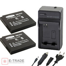 2x Battery + CHARGER DMW-BCK7E for Panasonic Lumix DMC-FS14 FS16 FX80 FH2 FH4 S1