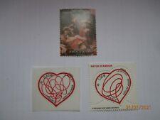 3 timbres français de 2012 neuf** dont 2 issus des blocs 4660 et 4632