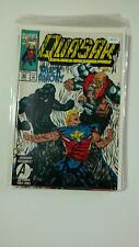 MARVEL COMICS QUASAR 44 AVENGERS ASSEMBLE! High Grade Comic Book K4-157