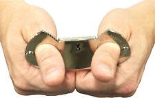Morris Costumes Lightweight Police Regulation Metal Thumbcuffs. LA156