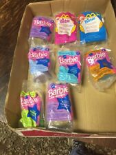 LOT OF 8 DIFFERENT BARBIE & FRIENDS - NIP - 1994 McDONALD'S HAPPY MEAL TOYS