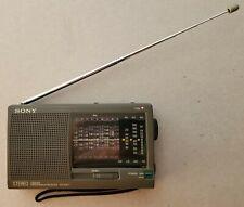 Sony ICF-SW11 World Band Shortwave Portable Radio 12 Banks - Free Shipping!!!