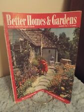 Better Homes U0026 Gardens August 1943 Issue