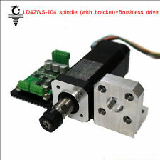 High Speed Spindle Motor+Mount Bracket+Brushless Drive For Metalworking Tools