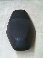 "Unbranded 2001-2005 Motorcycle Black leather Seat Used 25"" Scuff marks"