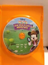 MICKEY MOUSE - DETECTIVE MINNIE - (DISC ONLY) (R4-PAL-ACCEPTABLE) - DVD #981