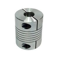CNC D25 L30 Motor Jaw Shaft Coupling Bore 5/6/6.35/8/10/12mm Flexible Coupler