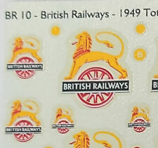 More details for clasp decals - 7mm o scale br & gw waterslide transfers from mgs
