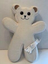 "IKEA White Bear bendable PS BRUM 13"" Teddy plush poseable Unicef Stuffed"